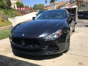 mobile car washing escondido CA Maserati